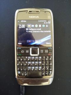 2 Smartphone Nokia E71 ( Original) Wi-fi Gps 3.2mpx Flash