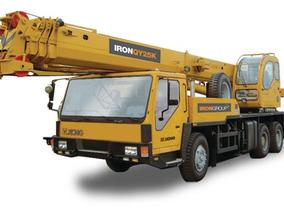 Grua Sobre Camión Iron Qy25