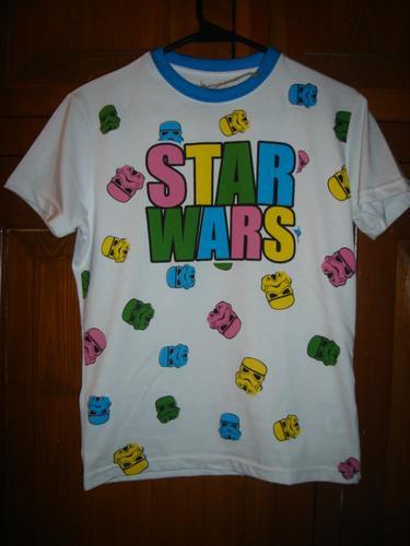 Playera Harapos Star Wars