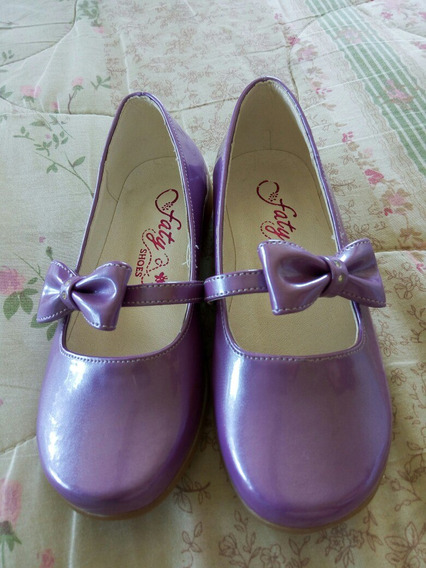 Zapatos De Nena Importados Hermosos Nuevos