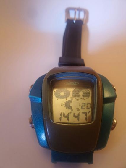 Raríssimo Relógio Citizen Futurista D28c - Maquina Do Tempo