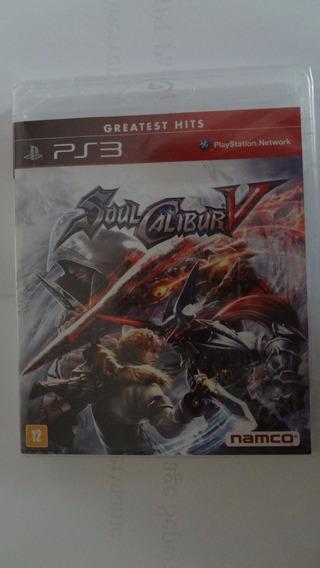Soul Calibur 5 Ps3 Novo E Lacrado