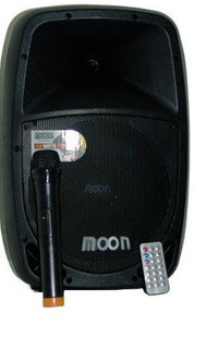 Parlante Potenciado Moon 10 Microfono Inalambrico Bateria