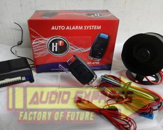 Alarma Aumotrotriz Hf-4700 Anti-asalto 2 Controles Y Sirena