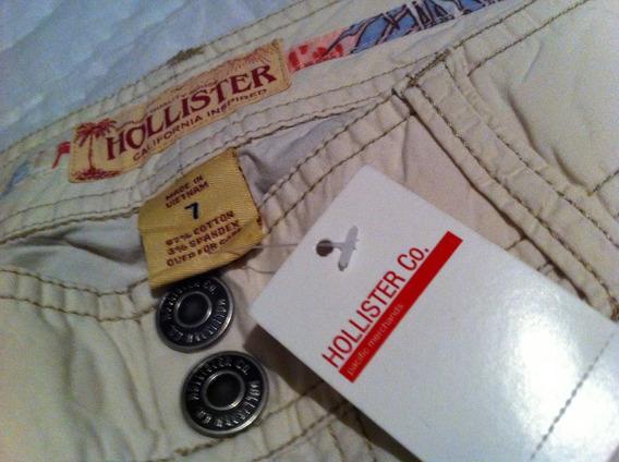 Hollister Pantalon Pesquero Para Dama