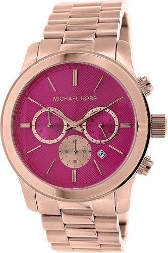 Relógio Michael Kors Mk5931 Runway Original Pink Rose