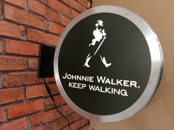 Luminoso Dupla Face Johnnie Walker