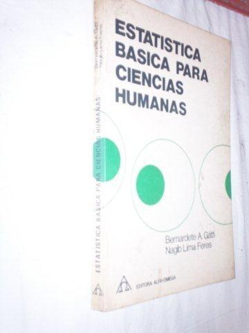 * Livro - Estatistica Basica Para Ciencias Humanas