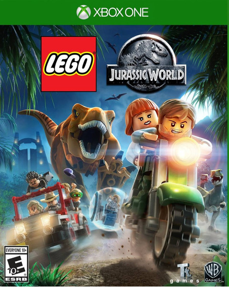 Lego Jurassic World (em Português) - Xbox One - Mídia Física