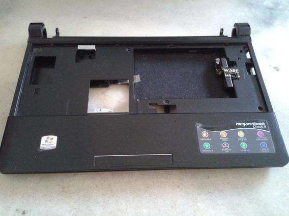 Carcaça Inferior Netbook Megaware Touchpad Autofalante