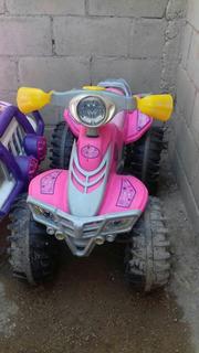 Motocicleta De Niña Electrica