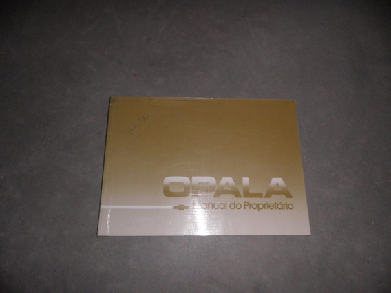 Opala Manual Original 1990 1991 Ótimo