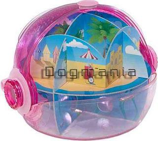 Habitrail Ovo Laberinto Rosa Fashion Para Hamster