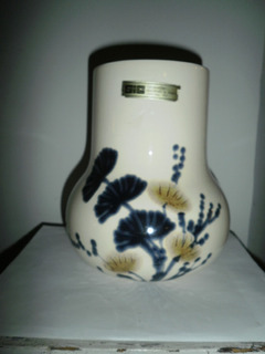 Jarron Vintage De Ceramica Italiana - Decorado A Mano