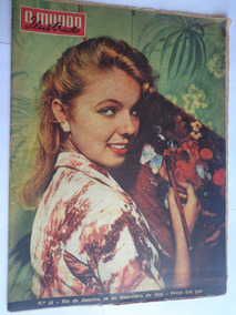 Mundo Ilustrado 44 Nov 55 Jogos Da Primavera A Rainha Daisy