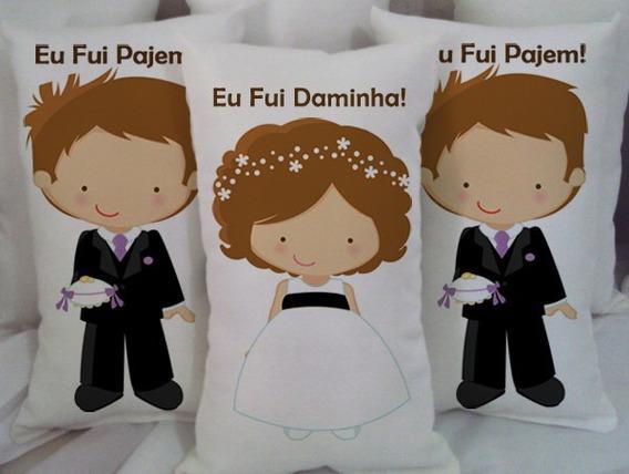 40 Almofada Personalizada Lembrancinha Casamento Batizado