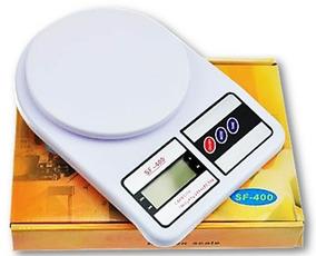 Balança Cozinha Alimentos 10kg Precisão Digital Sf-400 Aeio@