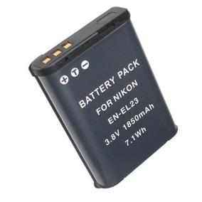 Bateria En-el23 Enel23 P/ Nikon Coolpix P600 P610 S810c Nova