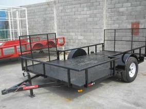 Remolque Traila 2 Cuatrimoto Camioneta Tipo T Rampa Mty18