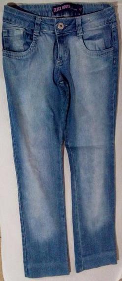 [brechó] Kit De Calças Jeans - Cor Azul - Tam 38