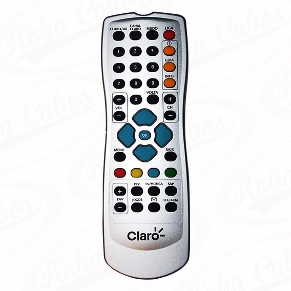 10 Controles Remoto Claro Tv Original Lacrado 100% Original