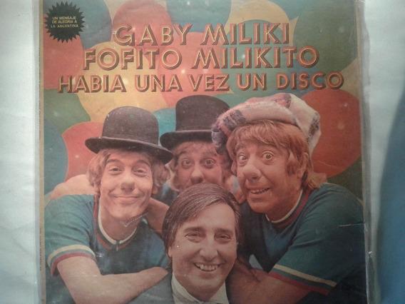 Lp Gaby Miliki Fofito Milikito Vinilo Original 1977