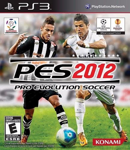 Jogo Ps3 Pro Evolution Soccer 2012