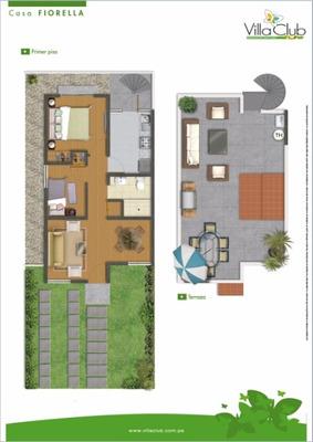 Alquilo Casa De 1 Piso Condominio Villa Club 1. Carabayllo.