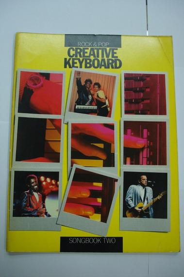 Livro - Teclado Creative Keyboard Rock & Pop - Two