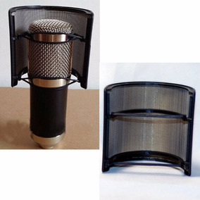 Mini Pop Filter Filtro Para Microfone Stúdio Condensador
