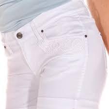 Wrangler Short De Jean Modelo Katy Blanco