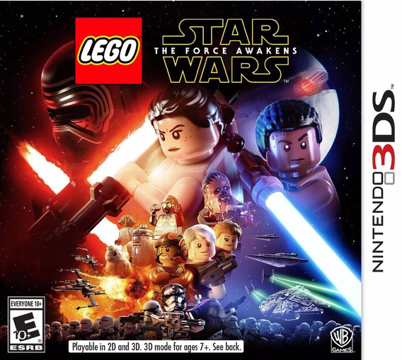 Lego Star Wars: The Force Awakens 3ds - Americano - Em Pt