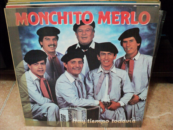 Disco De Monchito Merlo Hay Tiempo Todavia Lp Nuevo