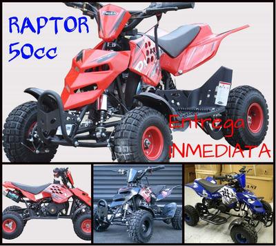 Cuatriciclo 50 Cc Mini Raptor 0 Km 2017