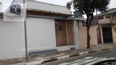 Terreno Residencial À Venda, Vila Camilópolis, Santo André. - Codigo: Te0507 - Te0507