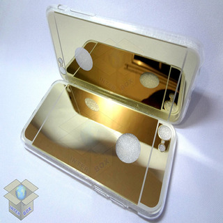 Case iPhone 5 5s 6 6s 7 Espelhada + Pelicula + Kit 11 Chaves