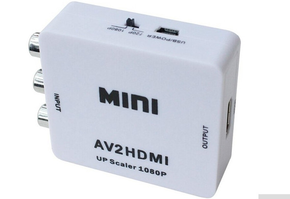 Mini Adaptador De 3 Rca Para Hdmi Digital