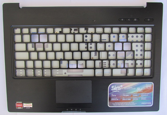 Notebook Sim+ 1565m Peça: Tampa Do Teclado C/ Touch