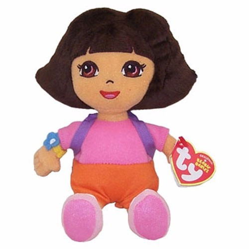 Dora Aventureira Pelucia Beanie Babies Disney Dtc Original