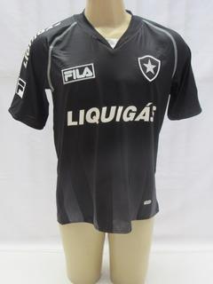Camisa Futebol Botafogo 2009 De Jogo #17 Fila Liquigás Vc6