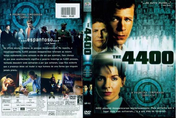 Dvd The 4400 Original 1, 2 E 3 Temporadas