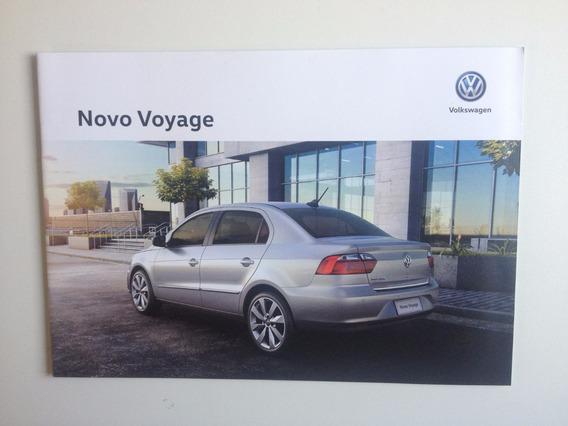 Catálogo Livreto Ficha Técnica Vw Novo Voyage Ano 2017