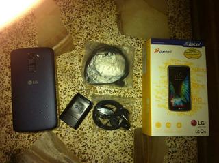 LG K10 Azul Marino