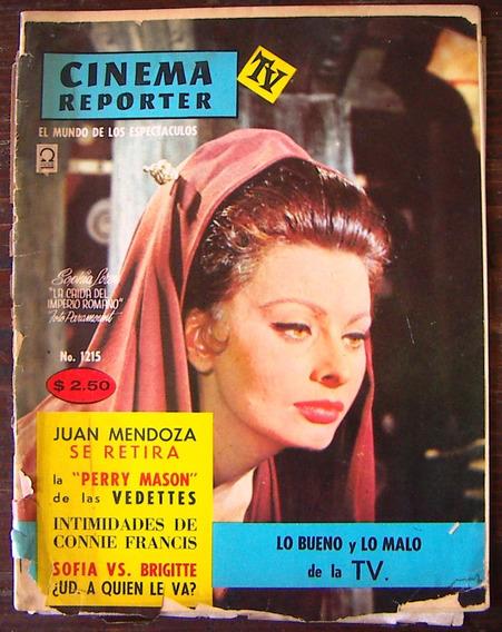 Revista,cinema Reporter,sophia Loren,brigitte Bardot