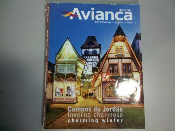 Avianca Brasil Em Revista/in Magazine Campos Do Jordão. N.16