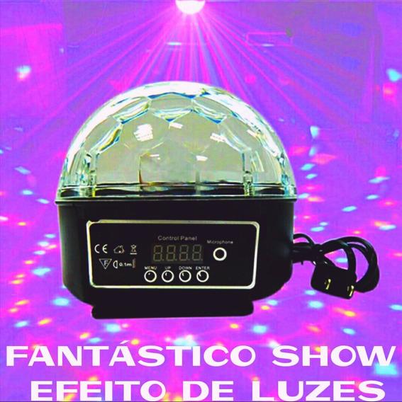 Bola Maluca Flash Led Magic Crystalball Show