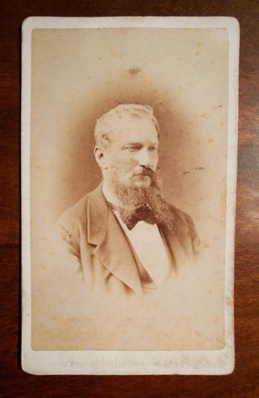 Fotografia Antigua Carte De Visite Italiana Por G Rossi 1868