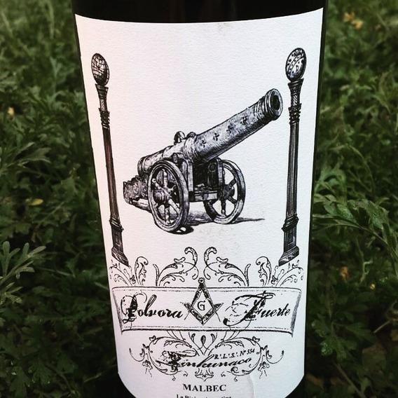 Botella Vino Malbec Mason - Polvora Fuerte - La Rioja