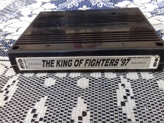 Cartucho Mvs The King Of Fighters 97 Original Neo Geo Japan