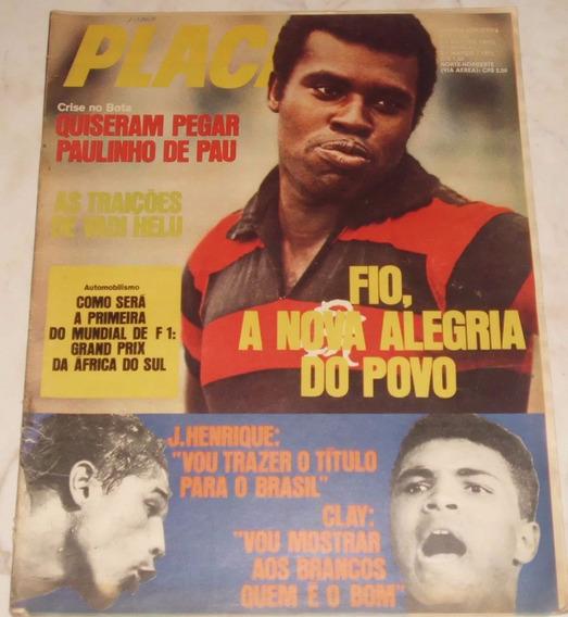 Revista Placar Nº 51 - Mar/1971 - Botafogo / Flamengo / F1